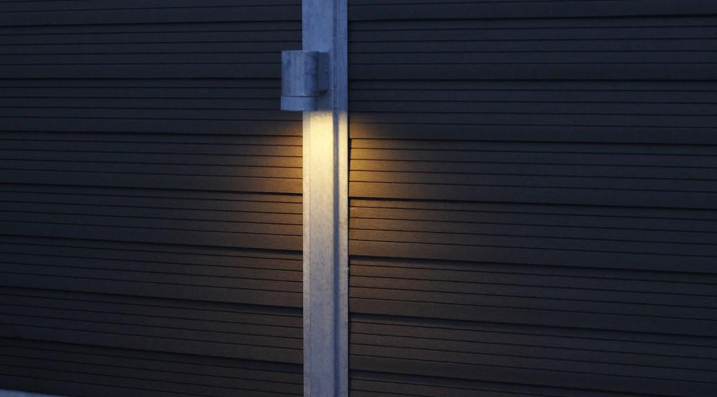 GH system hegn med lys